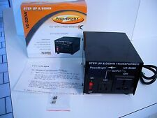 Power Bright VC-500W, Step up & Down. Transformer
