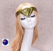 Women Lady Wonder woman Costume Cosplay Party Halloween Headwear crown Tiara