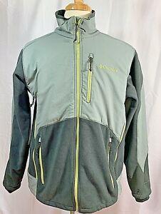 Columbia Sportswear Ballistic II Fleece Jacket Mens Gray Zip Large Interchange