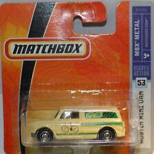 MATCHBOX 1965 AUSTIN MINI VAN BIKE SHOP MINT Rare Carded 2010