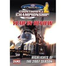 NHRA DRAG RACING 2007 REVIEW DVD. HOSTED BY BOB FREY. 120 Min. DUKE Video 5158N