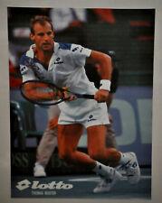 Thomas Muster Lotto Tennis Poster Vintage (207)