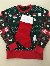 Womens Christmas Sweater Sz S Euc