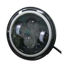 "7"" LED Headlight Halo Ring For Kawasaki Vulcan VN 500 750 800 900 1500 1600 1700"