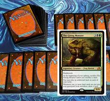 mtg BLACK GREEN DELIRIUM DECK Magic the Gathering rare cards SOI gitrog monster