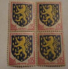 4 x French Stamps