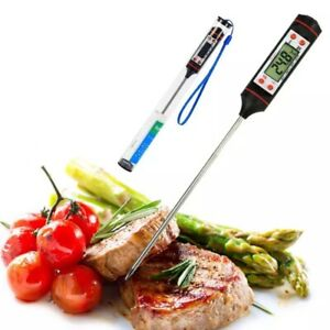 BBQ Kitchen Tools Electronic Meat Thermometer Digital Food Thermometers Probe