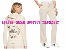 NWT Juicy Couture Tracksuit xlarge Velour Embellished Jacket Bootcut Pants Peach