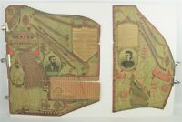 Antique 1873 Cornwell's Self-Fitting Chart For Dress Cutting Dressmaker Tailor