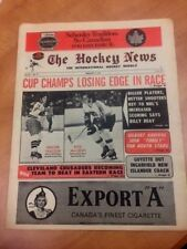 The Hockey News 1973 Gerry Cheevers Rick MacLeish Alex Delvecchio Roger Crozier