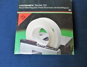 HANIMEX Rondex 120 - Rotary Carousel holds 120 x 35mm Slides