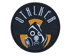 Gas Mask Stalker Airsoft Game Embroidered Patch #3