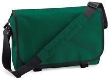 MESSENGER BAG IN BOTTLE GREEN BagBase  ADJUSTABLE SHOULDER STRAP - LAST ONE