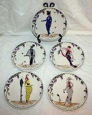 (5) Villeroy & Boch Depuis 1748 Design 1900 VITRO  Porcelaine Luxembourg Plates