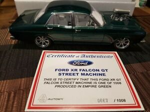 Diecast 1:18 XR GT Falcon Street Machine Nemesis