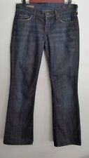Citizens of Humanity Jeans 28 Kelly Low Rise Boot Cut Dark Wash Rinsed Denim USA