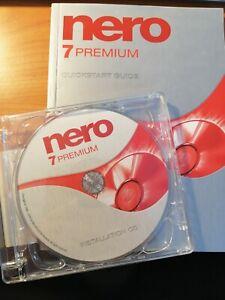 +NERO 7 PREMIUM+ Brennprogramm  CD+Handbuch