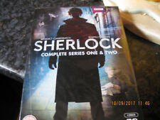 DVD SHERLOCK SERIES 1 AND 2 SEALED