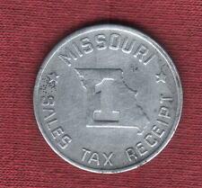 1930's Missouri Sales Tax Token