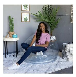 AirCandy City Inflatable Chair In Clear