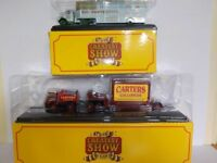 Foden Ballast & Blilly Smarts Bedford Circus Vehicles X2  1/76 Scale