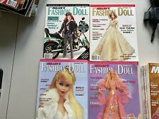 4 Vintage Miller's Fashion Doll Magazine Issues