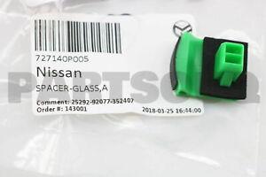 727140P005 Genuine Nissan SPACER-GLASS,A 72714-0P005