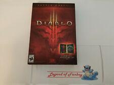 Diablo III 3 Battle Chest - PC (Windows/Mac) * New Sealed Game Box * Blizzard