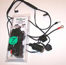 7' Long 12v/12 volt System ..MOTORCYCLE, ATV POWER OUTLET, PHONE, GPS...U S Made