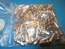 "Bicycle Lot of 120 Spoke Nipples 12 Gage 5/8"" Long Chrome Colored - New"
