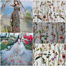 1/2/3/5 Meter Wide Lace Fabric Tulle Exquisite Floral Alice Embroidered Dress