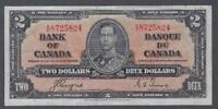 1937 (BC-22c) Bank of Canada Two Dollars VF-30