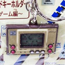 Nintendo Game & Watch History Miniature Figure Key Chain MANHOLE JAPAN