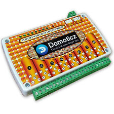 DOMOTICZ LAN Ethernet IP 8 channels WEB Relay board BOX