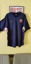 T-shirt Training FCB Barcelona XL Used Original Season 2002-03 Collectors Only