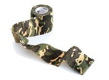 Nastro camouflage 5cm x 4,5 Mt adesivo mimetico militare telato tessuto caccia