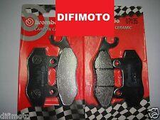 PASTILLAS DE FRENO DELANTERO BREMBO 07033 + 07035 KYMCO PEOPLE S Si 300 2008 >