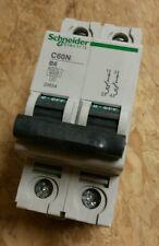 Schneider 2polig C60N Sicherungsautomat B6A Leitungsschutzschalter 23634 B6