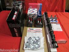 Mercruiser Chevy Marine 5.7 350 MASTER Engine Kit Pistons+Cam 1-PC gaskets rings