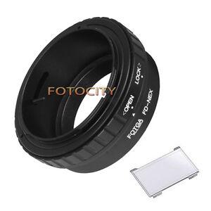 Canon FD to Sony e-Mount Adapter Ring f a6000 a7 a7r NEX5T NEX3N NEX6 NEX3 NEX7