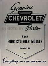 Chevy Parts Book 1928 1927 1926 1925 1924 1923 1922 1921 1920 1919 18 Chevrolet