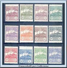 1925 San Marino Veduta serie completa n. 107/118 Nuovi Integri **