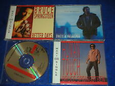 3 CD SINGLE maxi BRUCE SPRINGSTEEN Streets Philadelphia BETTER DAYS human touch