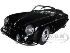 PORSCHE 356A SPEEDSTER EUROPEAN VERSION BLACK 1/18 BY AUTOART 77863