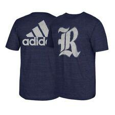 "Rice Owls  NCAA Adidas ""Franchise"" Big Team Logo Navy Blue T-Shirt"