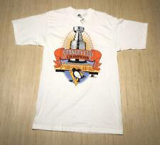 Vintage Starter Pittsburgh Penguins 1991 Stanley Cup Champions Deadstock Shirt M
