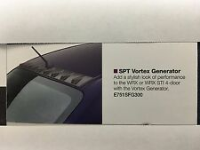 Subaru Impreza WRX  STI SPT Vortex Generator E751SFG300 Genuine Oem New 2008-14