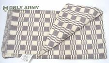 Russian Army Wool Blend Blanket Soviet Military Surplus Bedding 210 x 140cm Warm