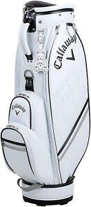 Callaway Golf Ladies Cart Caddy Bag PU SPORT 8.5 x 46 inch 3.1kg White 5121063