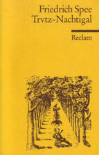 ◉ FRIEDRICH SPEE Trutz-Nachtigal |2003, RECLAM Geistlicher Liederzyklus JESUITEN